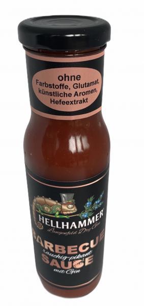 Gin Sauce mit Hellhammer Gin